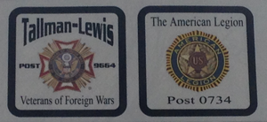 Camanche VFW and American Legion Donation