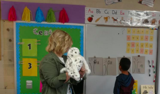 Fundations Echo and Baby Echo Visit the Classroom