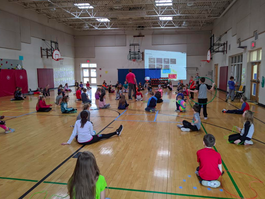 Preparing for Jump Rope for Heart